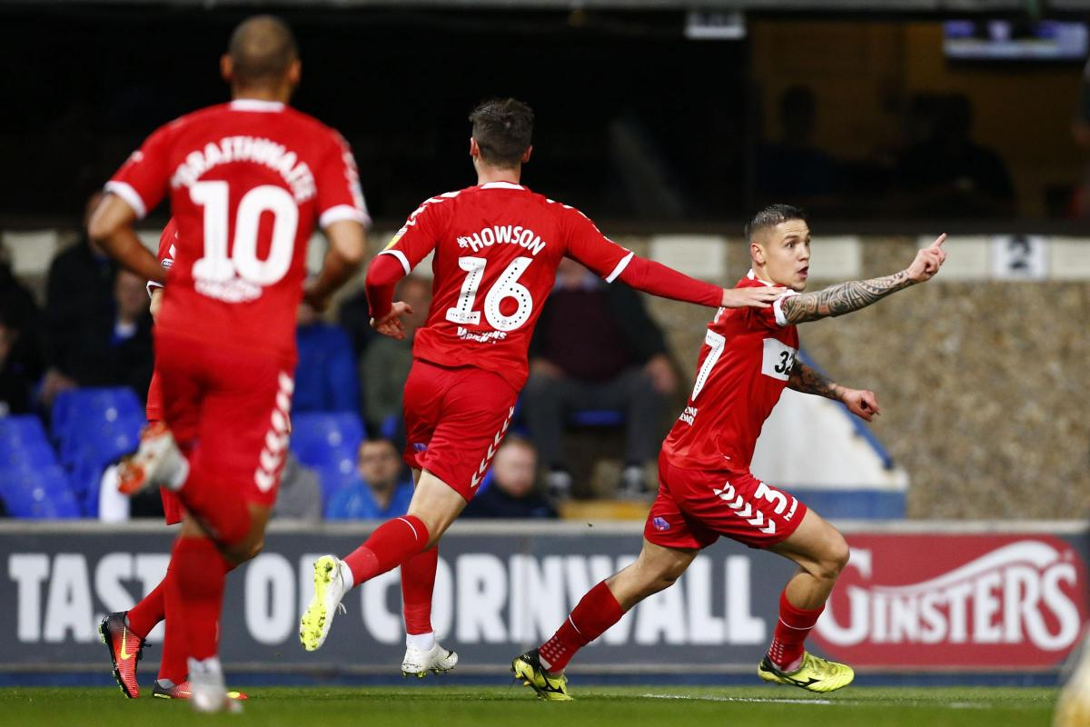 Ipswich Town 0-2 Middlesbrough: Downing, Besic goals send Boro joint top of the table