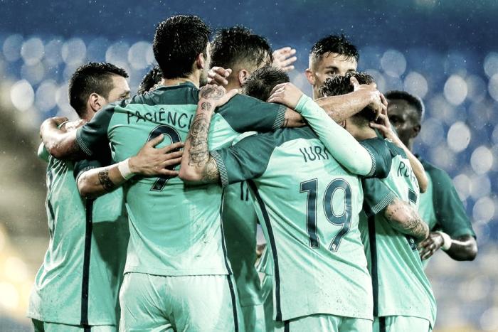 Jovens lusos vencem Alemanha com golaço de Bruno Fernandes