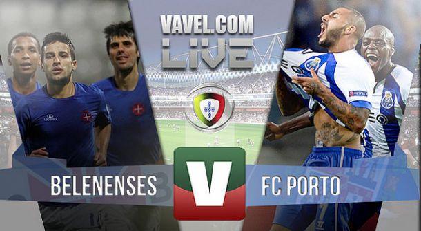 Resultado Belenenses x Porto na Primeira Liga (1-1)
