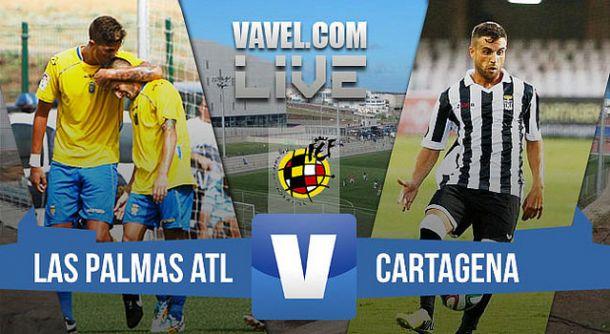 Resultado Las Palmas Atlético - FC Cartagena de Segunda B 2015 (1-1)