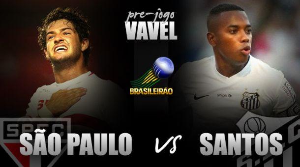 São Paulo e Santos reeditam semifinal do Paulistão visando maior estabilidade no Brasileiro
