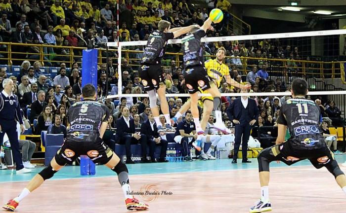 Volley M - Lube Civitanova Marche e Diatec Trentino si portano sul 2-1 nella serie di semifinale scudetto