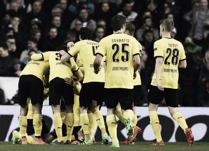 Tottenham Hotspur (1) 1-2 (5) Borussia Dortmund: All too easy as Aubameyang guides the Germans through