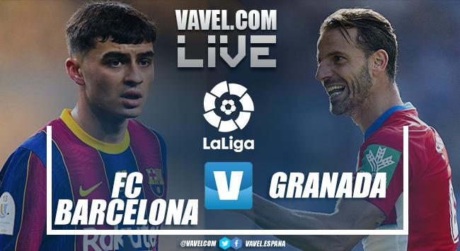 Gols e melhores momentos Barcelona x Granada pela LaLiga (1-2)