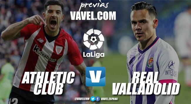 Previa Athletic Club - Real Valladolid: objetivo, salir del descenso