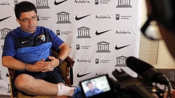 Antonio Fernández se desvincula del Málaga