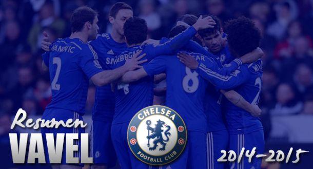 Chelsea: 2014/2015: dos títulos para sentar las bases de una hegemonía