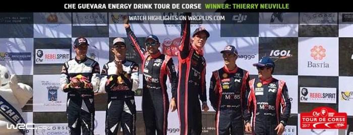 Tour de Corse 2017 - Si sblocca Neuville!