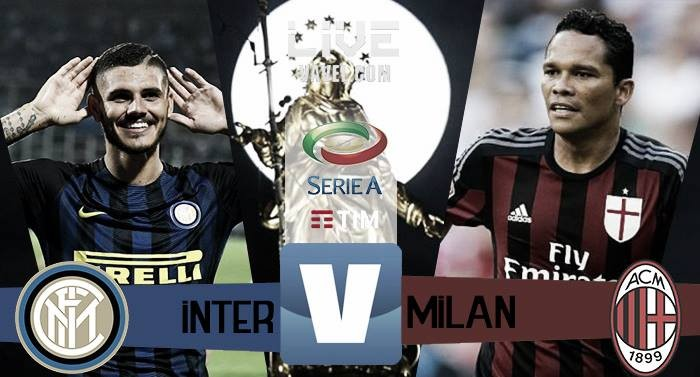 Risultato Inter - Milan in Serie A 2016/17 - Candreva, Icardi, Romagnoli, Zapata!(2-2)