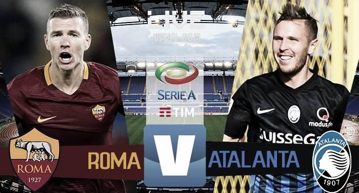 Risultato Roma 1-1 Atalanta in Serie A 2016/17: la Roma non passa e saluta lo Scudetto