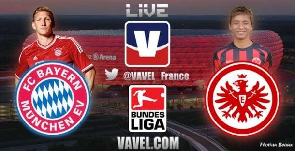 Live FC Bayern München - Eintracht Frankfurt, le match en direct