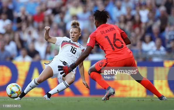 Women's World Cup: Germany 4-0 South Africa