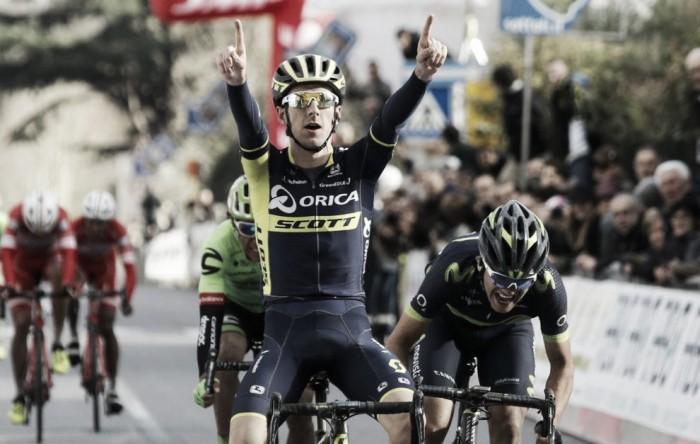 GP Larciano - Yates: vittoria con vista Tirreno e Giro d'Italia