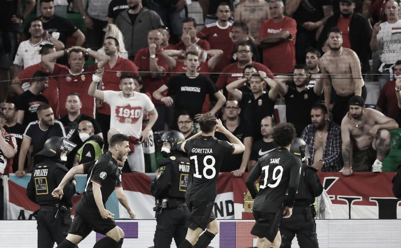 Com sofrimento, Alemanha empata em casa com a Hungria e segue na Eurocopa 2020