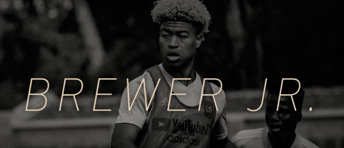 Una nueva perla llega a LAFC: Shaft Brewer Jr