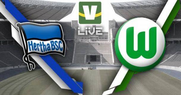 Hertha Berlin x Wolfsburg, Bundesliga