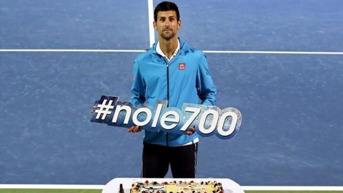 ATP 500 Dubai: altro allenamento per Djokovic, out Pospisil