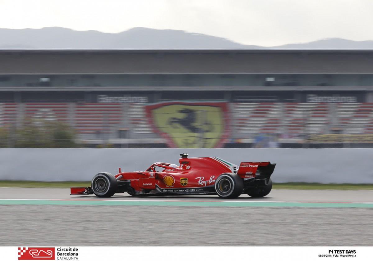 F1, Test Montmelò - Day3: Vettel abbatte ogni limite, ma...