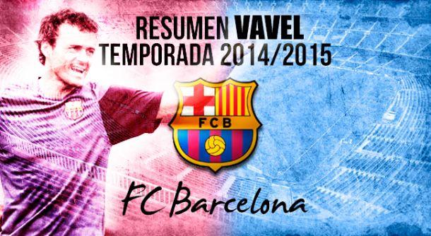 Especiais La Liga 2014/15 Barcelona: Temporada de recordes e títulos