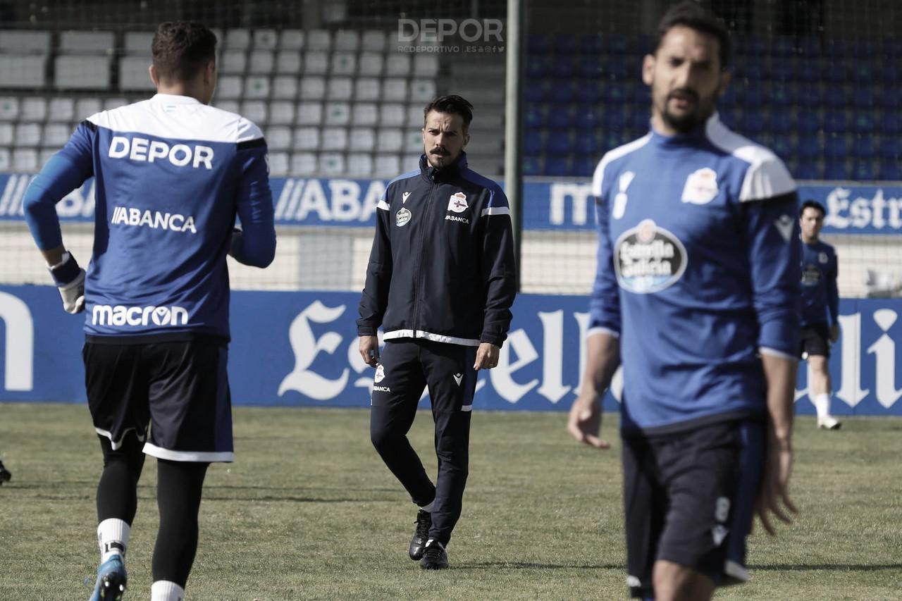 """Rubén de la Barrera:""""Estoy convencido de que el domingo el equipo hará un buen partido"""""""