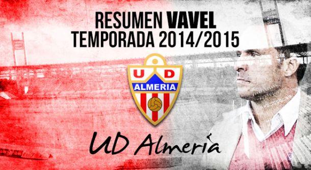 Resumen temporada 2014/15 de la UD Almería: cómo morir peleando