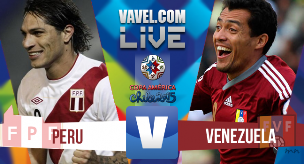 Resultado Perú - Venezuela en Copa América 2015 (1-0)