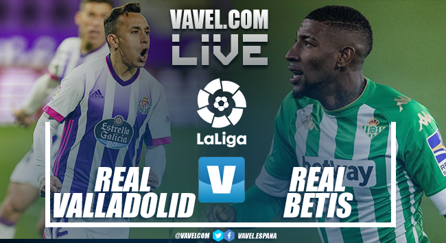 Resumen del Real Valladolid vs Real Betis (1-1)