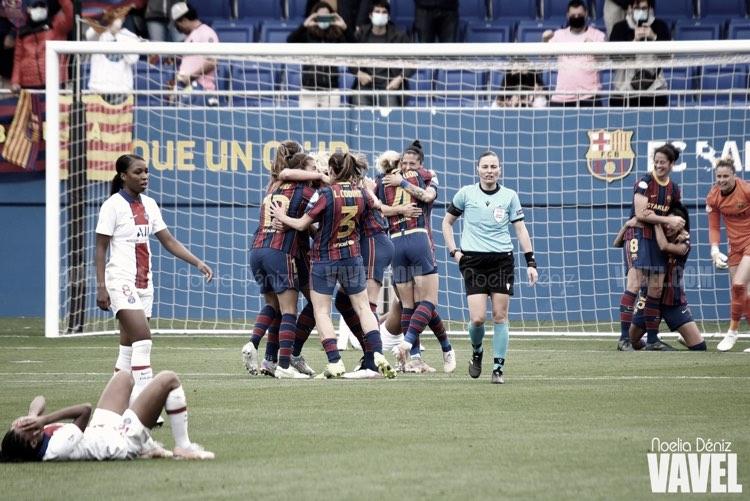 El Barça Femení consigue un sufrido pase para la final de Champions