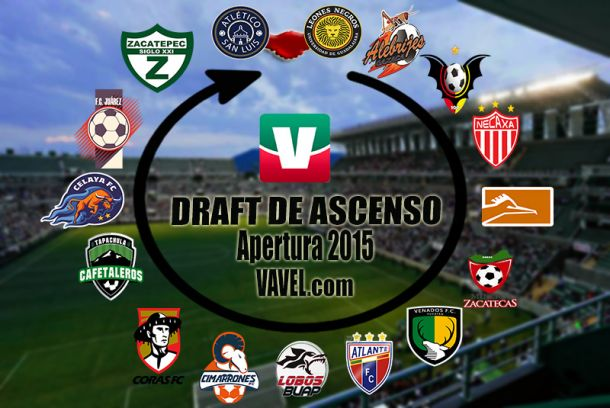 Transferencias Draft Apertura 2015 Ascenso MX