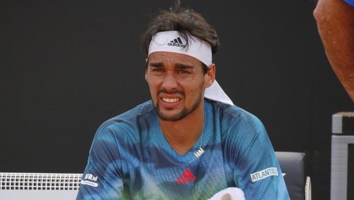 ATP 250 Nizza: subito fuori Fognini