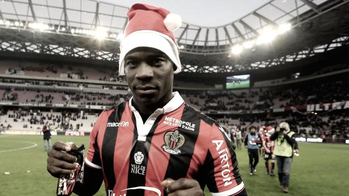 Ligue 1: Balotelli trascina il Nizza, crollano Monaco e PSG