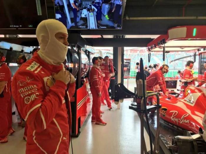 "Vettel calma gli animi: ""Bene, ma Mercedes si è nascosta"""