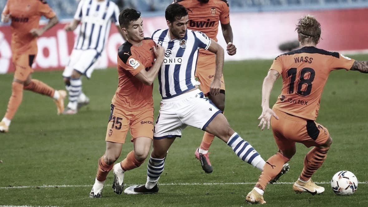 Previa Valencia-Real Sociedad: Europa, a puja