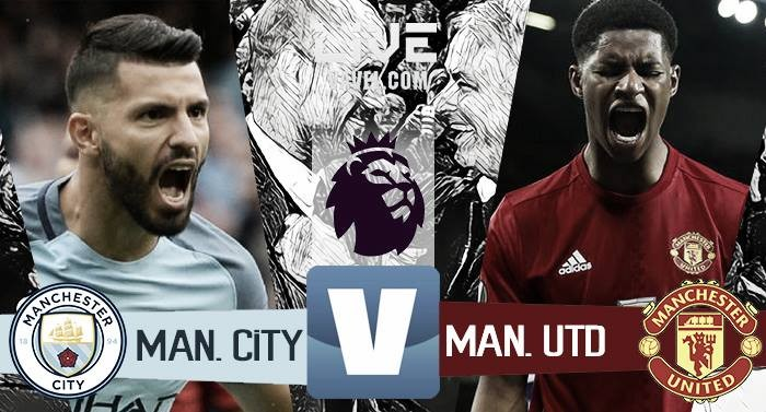 Risultato Manchester City 0-0 Manchester United in Premier League 2016/17: Finisce a reti Bianche il derby!