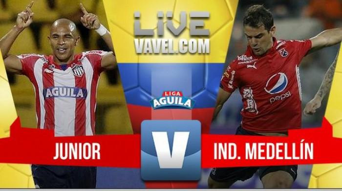 Junior vs Medellín en vivo y en directo online en Liga Águila 2017 (2-0)