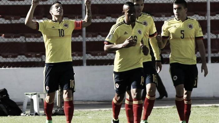 Bolivia 2 - 3 Colombia: Los cafeteros sorprenden en la altura de La Paz