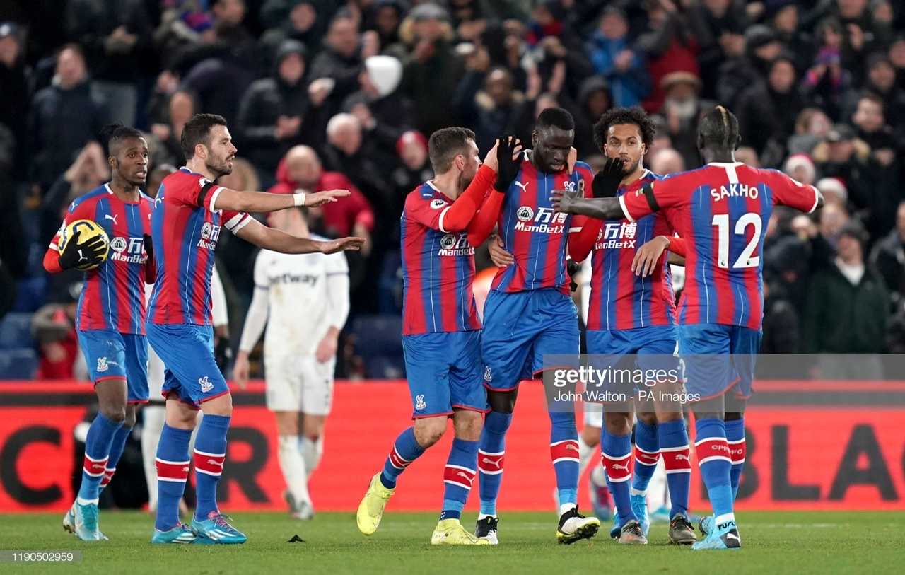 Crystal Palace 2-1 West Ham United: Hammers concede late to drop points