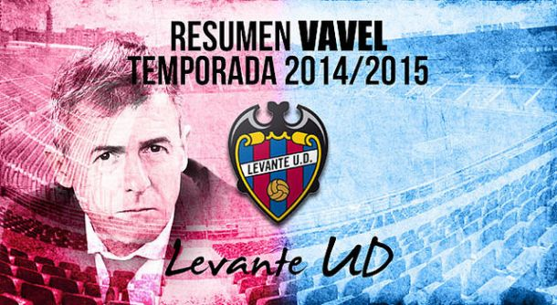 Resumen temporada 2014/15 del Levante UD: sufrida salvación