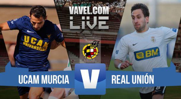 Resultado UCAM Murcia - Real Unión en los playoffs Segunda B 2015 (0-0)