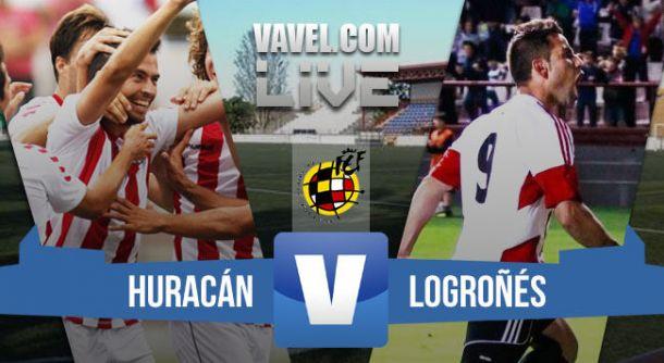 Resultado Playoffs Segunda B 2015: Huracan Valencia - UD Logroñés(2-1)