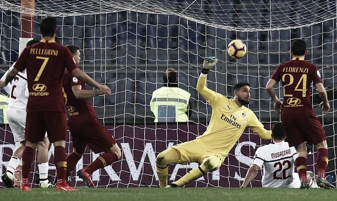 Em jogo com assistência de Lucas Paquetá, Roma e Milan ficam no empate