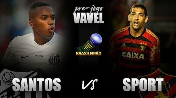 Santos recebe líder Sport visando afastar início irregular no Brasileirão
