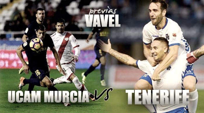 Previa UCAM Murcia CF - CD Tenerife: Los extremos se cruzan en un duelo inédito