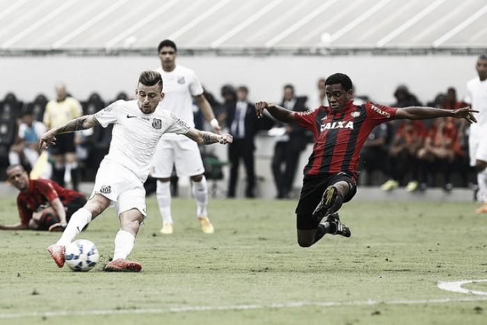 Vitória perde em casa para o Santos pelo Brasileirão (2-3)