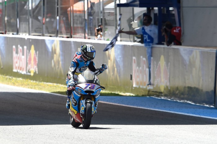 Moto2: Fantastic first victory for Marquez in Jerez