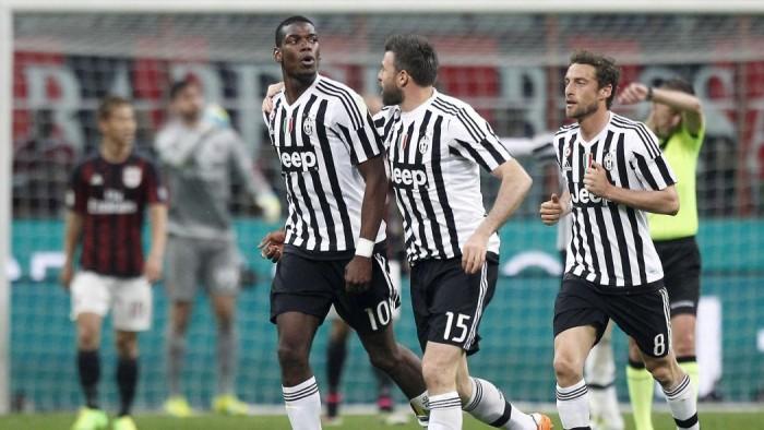 La Juventus rimonta un buon Milan ipotecando lo scudetto: a San Siro termina 1-2