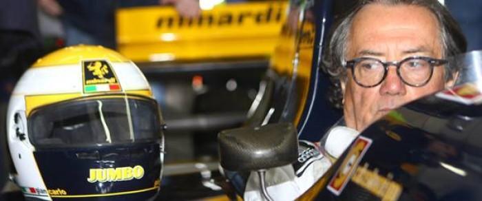 Minardi, esordio in F1 a 70 anni