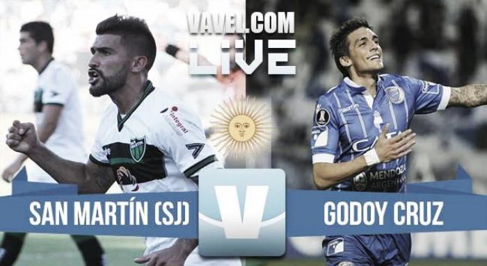 Resumen y goles: San Martín de San Juan vs Godoy Cruz (1-2)