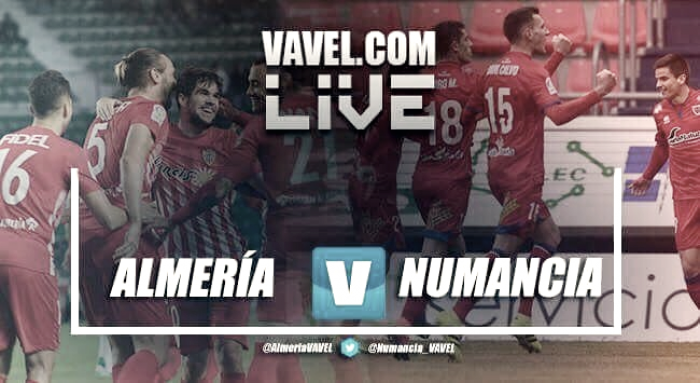 Resultado Almería 2-0 Numancia en Segunda División 2017