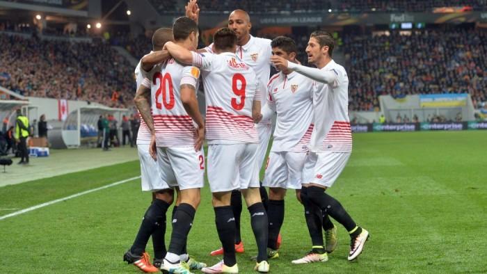 Europa League, pari spettacolo tra Shakhtar e Siviglia: 2-2 a Leopoli